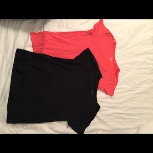 Pair of Mudd tee shirts